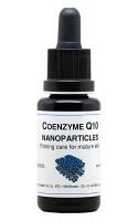 Coenzyme Q10 nanoparticles