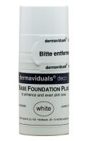 dermaviduals® base foundation Plus - white