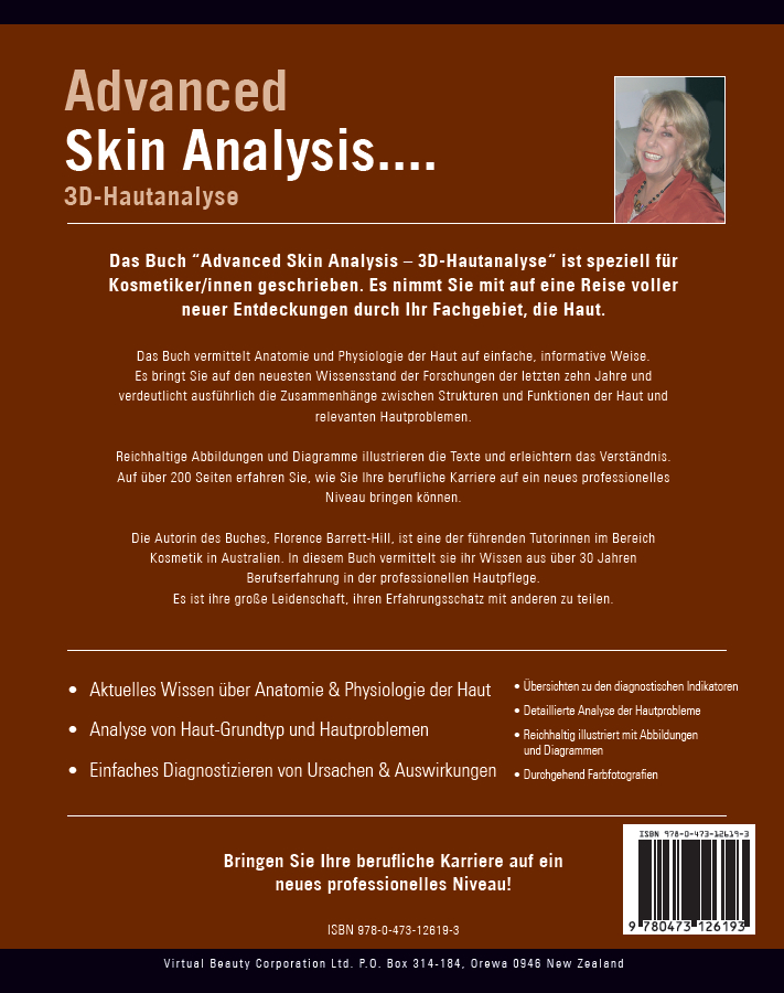 Florence Barrett-Hill: Advanced Skin Analysis - 3D-Hautanalyse