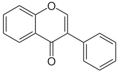 isoflavone - basic structure