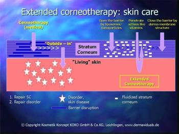 Erweiterte Korneotherapie